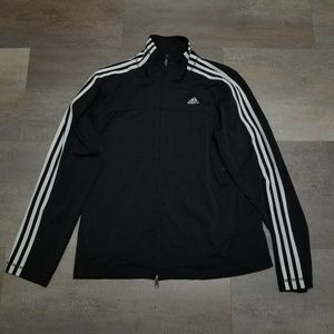 Adidas Womens Track Jacket Size Large